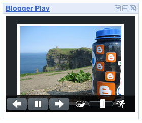 Blogger Play Gadget