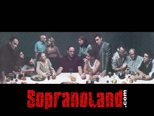 The Sopranos Last Supper (1999) by Annie Liebovitz