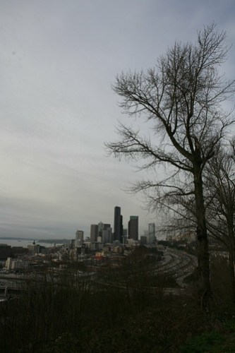 Seattle from near Amazon's headquarters