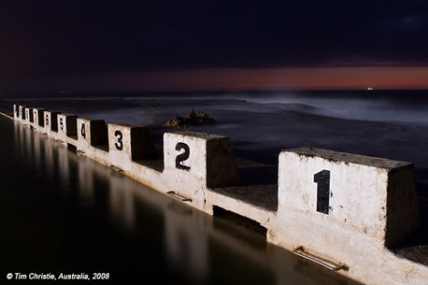 Merewether Ocean Baths Diving Blocks