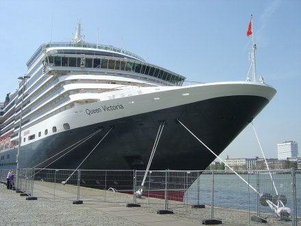 Cunard Queen Victoria in Rotterdam Holland