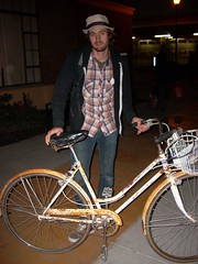 Neil and his Schwinn Suburban