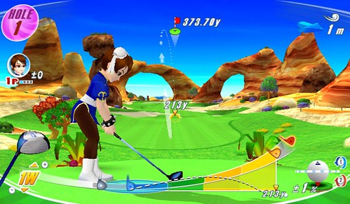 chun li Wii love golf