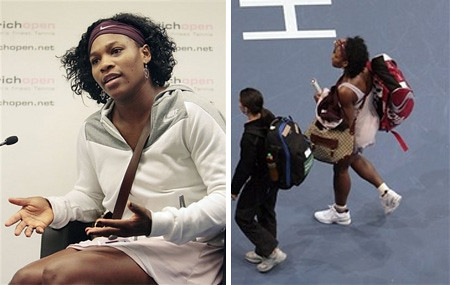 serena williams - gucci - zurich