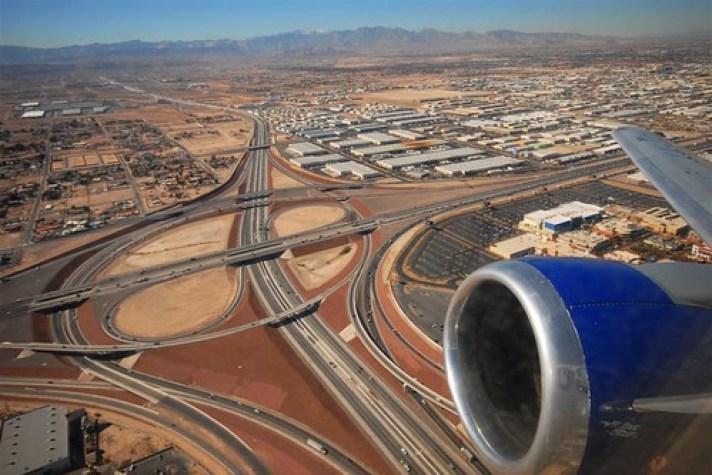 Las Vegas Southbound Departure, Runway 19L