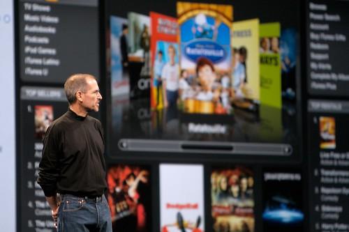 Steve Jobs talks about the iTunes Movie Rental stuff...