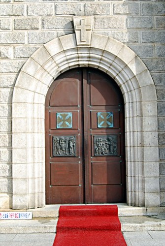 Processional Door, Jungnim-dong Cathedral