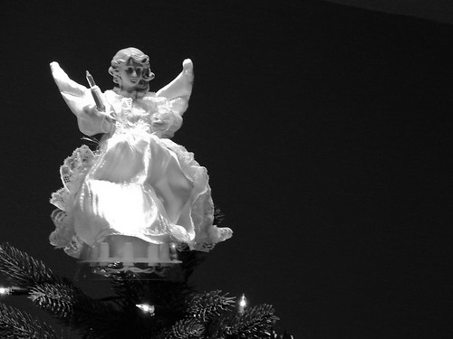 Angel on the Christmas Tree