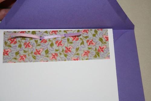 Asian purple card