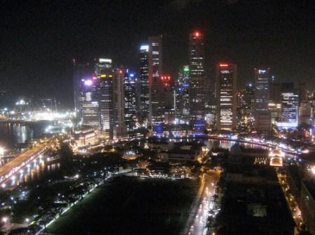 Obligatory Singapore skyline picture