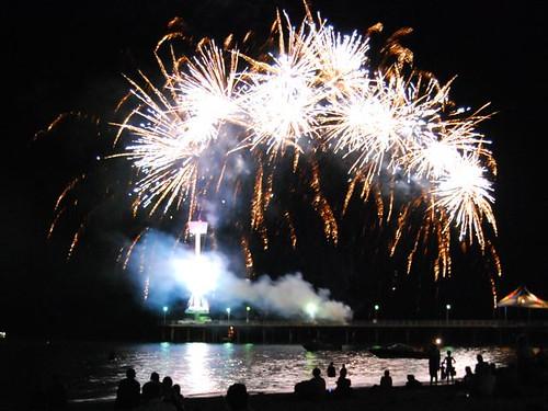 New Year's Eve 2007 (Brighton Beach, S. Australia)