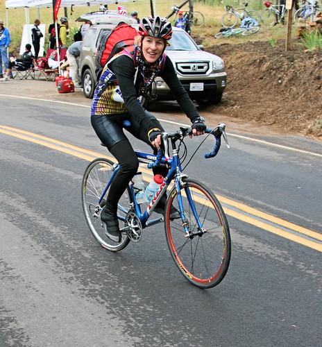 Bicyclist in San Jose California