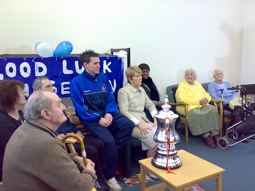The F.A. Cup in Chasetown