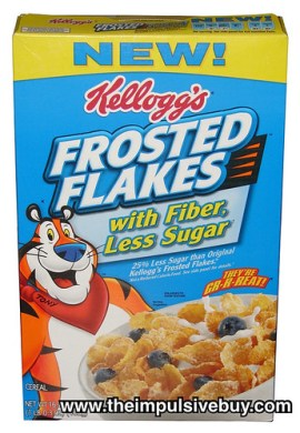 Kellogg's Frosted Flakes with Fiber, Less Sugar