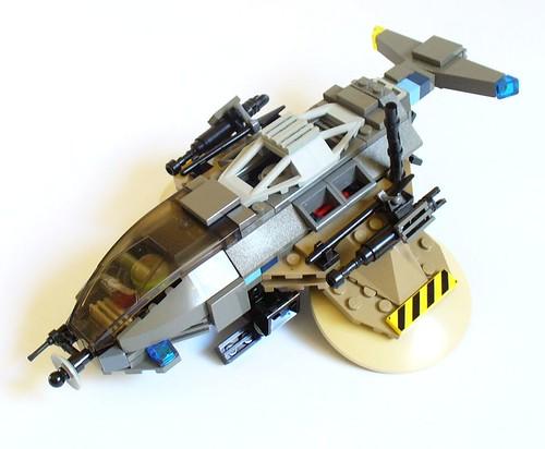 Pigeon gunship