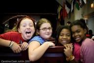 Alyssa, Frankie, Lauryn and Jacari