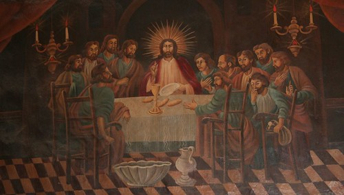 the last supper, san xavier