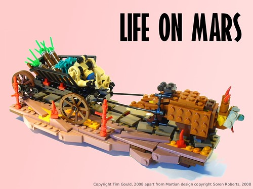 Tim Gould's Mars diorama