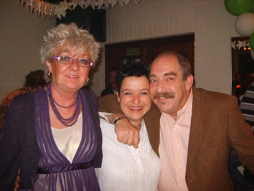Met Sjannie en pap...