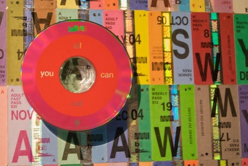 John Kuzich's Fast Pass art at the DeYoung through Sunday, August 30
