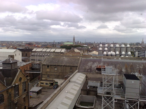 View from Guinness Storehouse