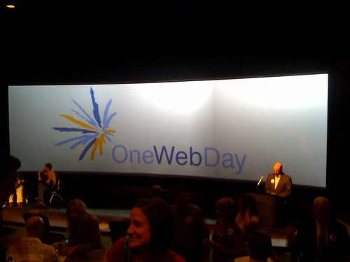 At onewebday in Lafayette la. #OWD09 at LITE!