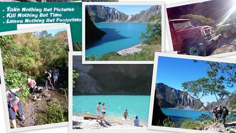 Trekking Pinatubo