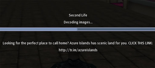 Azure Islands get message of the day advertising