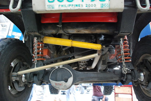Team Land Rover Philippines Front Axle