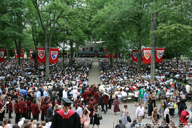 Harvard University 2009 graduation ceremony Steven Chu