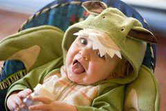 this is what I think of my costume, mama...