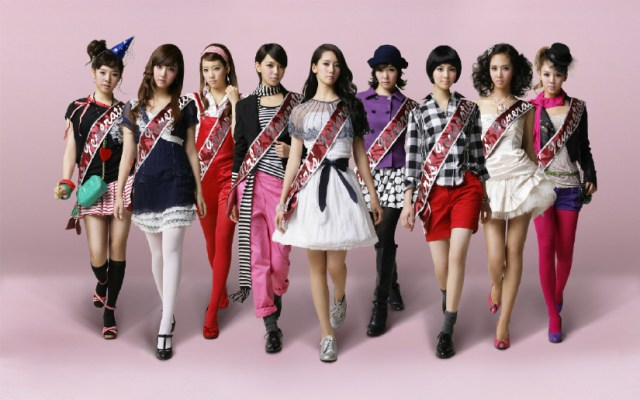 SNSD concept Girls' Generation Korean Kpop girls group Girl's Generation