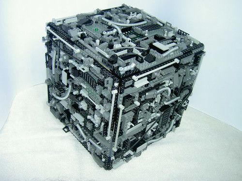 LEGO Star Trek Borg cube