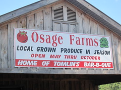 osage farms sign