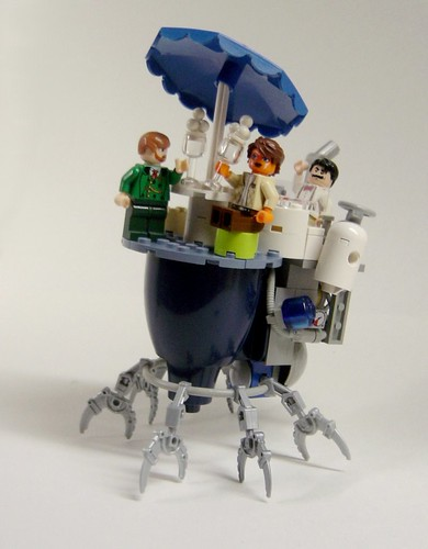 LEGO steampunk phosphate stand