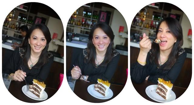 eat cake collage
