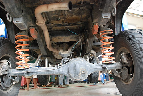 Team Land Rover Philippines Rear Axle