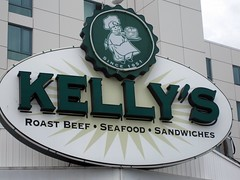 kelly's roast beef - and the sign