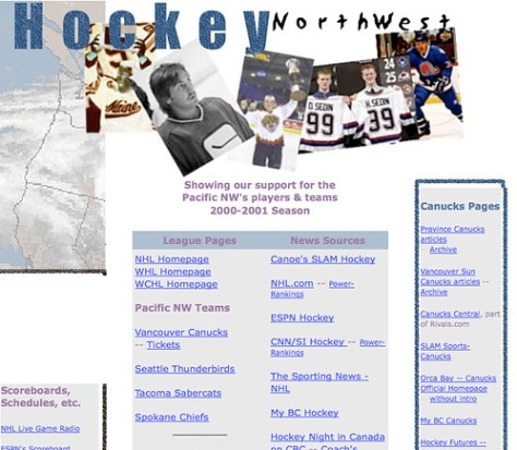 Hockey ... Northwest