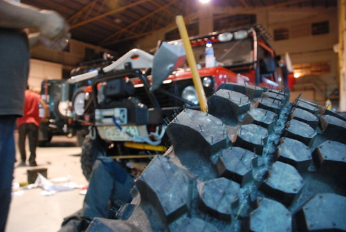 Team Land Rover Philippines Simex Tires