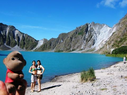 Mount Pinatubo Swimming