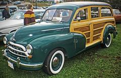 1955 Morris-Oxford Woodie: Haliburton Fall Festival Antique Car Show, October 2009