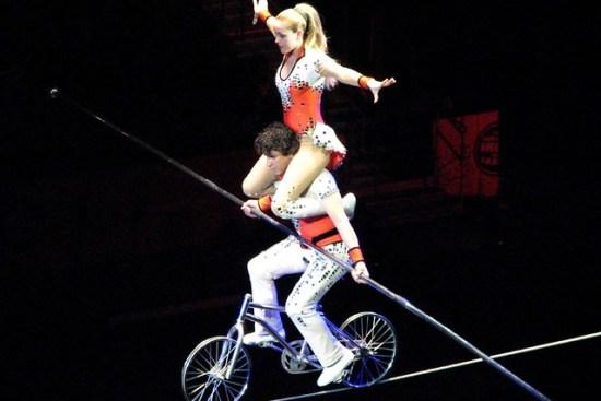 tight rope bike