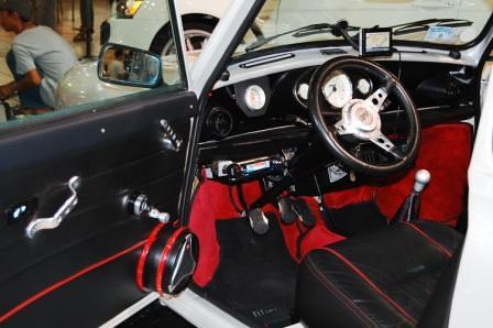 TRA Classic Mini Driver's Seat