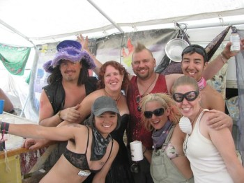 Nomadic Happy Hour - Chris, Cherie, Ben, Roberto, Asami, Steff & JoAnna