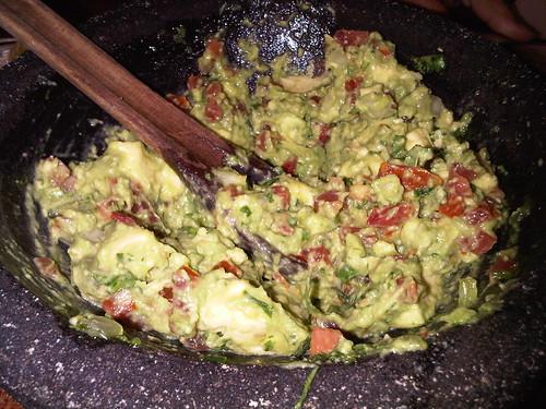 Fresh Guacamole @ Rosa Mexicano in NYC