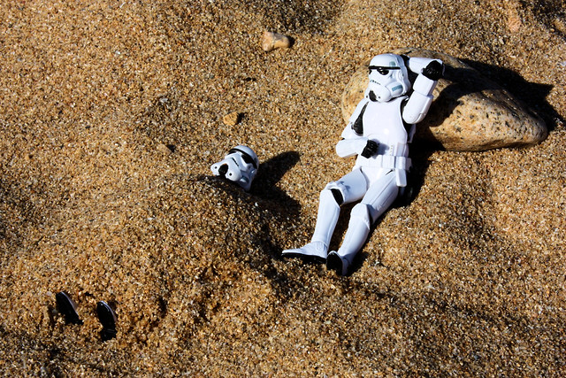 Holiday by the Sea - Day 4: Sandtroopers