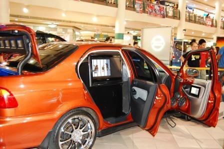 Kid Audio Honda Civic SiR Rear Door