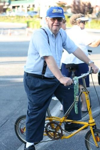 Larry's folding bike