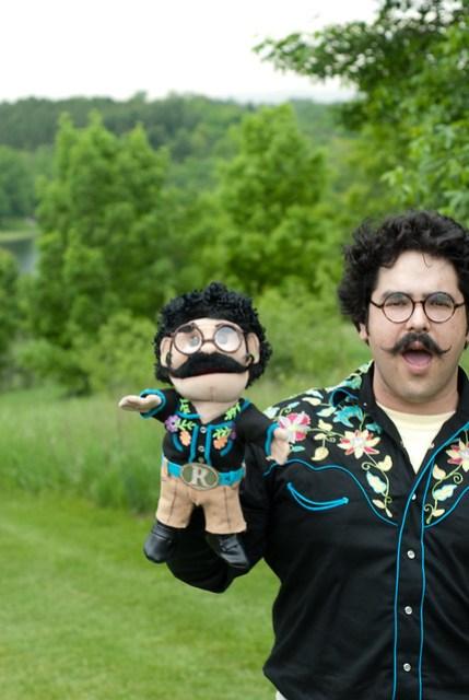 Rudy & Puppet